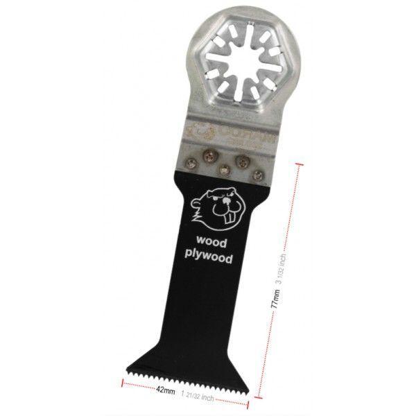 Zaagblad Standaard Lang 42mm (quick-lock aansluiting